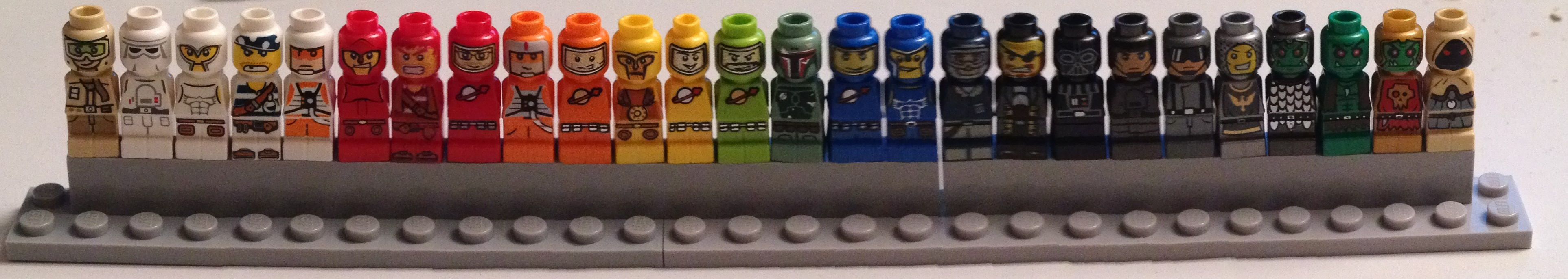 Lego Microfigs für Inquisitor